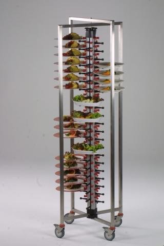 Fahrbarer Tellerstapler Plate Mate PM-84 KLAPPBAR