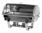 Chafing Dish 1/1 GN mit Rolldeckel Modell DENNIS