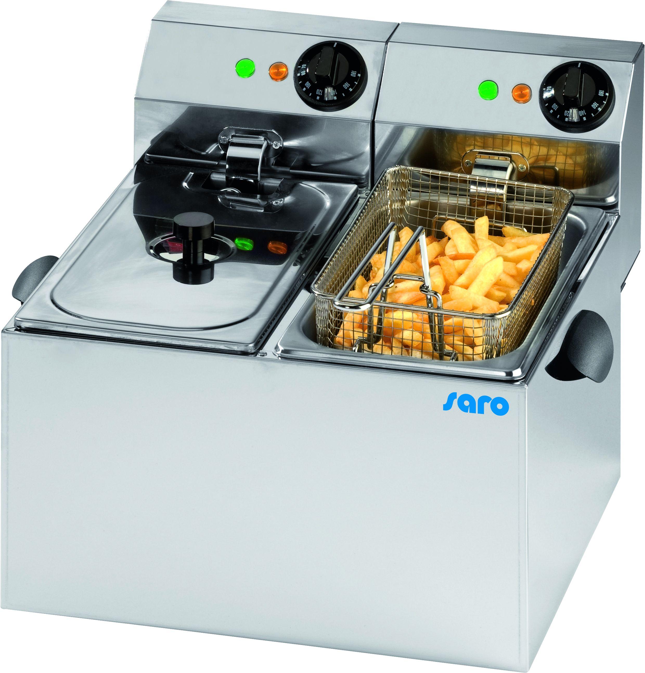 fritteuse modell profri 66 | saro - Dampfgarer Großküche