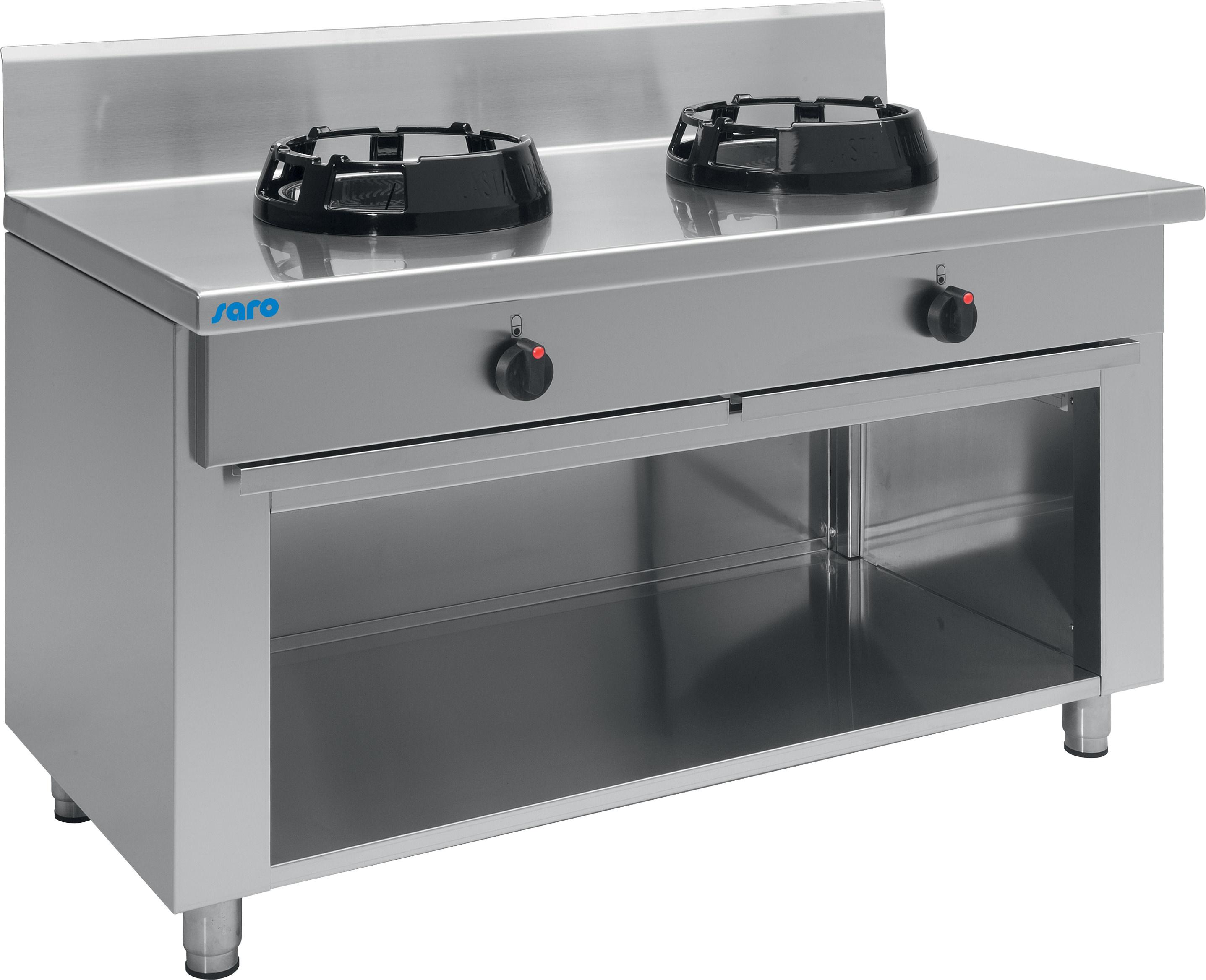 wok gasherd modell cc 02 saro. Black Bedroom Furniture Sets. Home Design Ideas