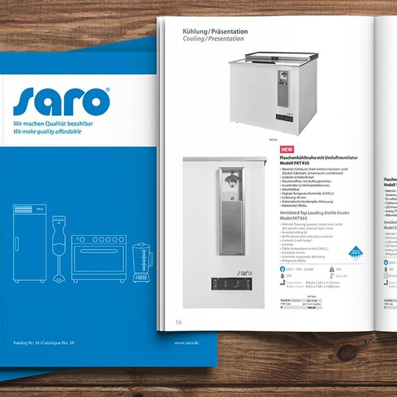 Saro Katalog Nr. 34